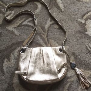 Vince Camuto Gold Crossbody bag